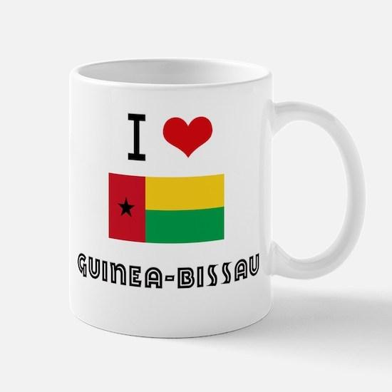 I HEART GUINEA-BISSAU FLAG Mug