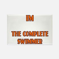 IM the complete swimmer Rectangle Magnet
