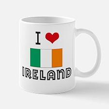I HEART IRELAND FLAG Mug