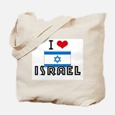 I HEART ISRAEL FLAG Tote Bag