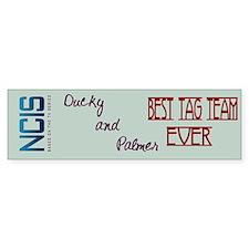 Ducky Palmer NCIS Tag Team Bumper Sticker