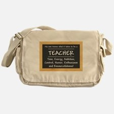 What it takes to be a Teacher Messenger Bag