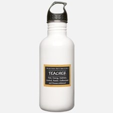 What it takes to be a Teacher Water Bottle