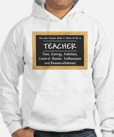 What it takes to be a Teacher Hoodie