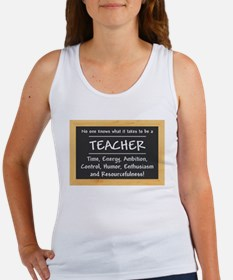 What it takes to be a Teacher Tank Top