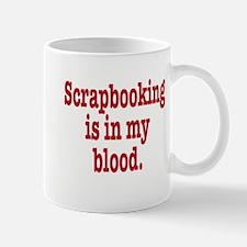 Unique I love scrapbooking Mug