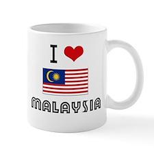 I HEART MALAYSIA FLAG Mug
