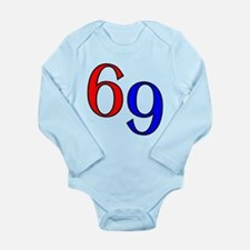 Bold 69 Long Sleeve Infant Bodysuit