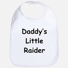 Daddy's Little Raider Bib