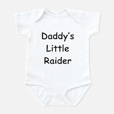 Daddy's Little Raider Infant Bodysuit