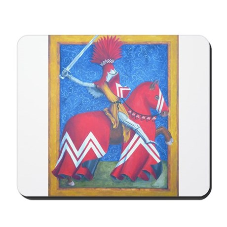 Red Knight Mousepad