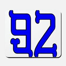Blue Bones 92 Mousepad