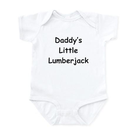 Daddy's Little Lumberjack Infant Bodysuit