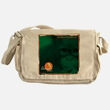 Orangutan Face Messenger Bag