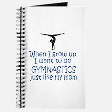 Gymnastics...just like MOM Journal