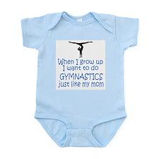 Gymnastics...just like MOM Onesie