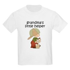 Grandmas Chicken Helper Boy T-Shirt