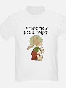 Grandmas Chicken Helper Boy T-Shirt