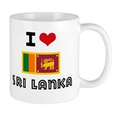 I HEART SRI LANKA FLAG Mug