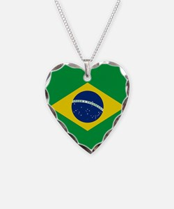 Flag of Brazil Necklace