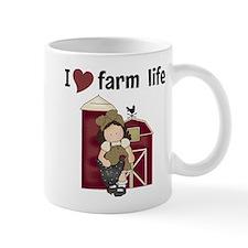 I Love Farm Life Small Mugs