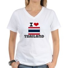 I HEART THAILAND FLAG T-Shirt