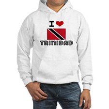 I HEART TRINIDAD FLAG Hoodie
