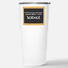 Singed Eyebrows makes it Science Travel Mug