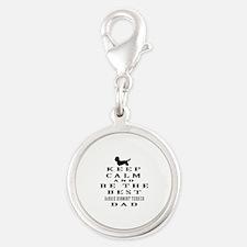 Keep Calm Dandie Dinmont Terrier Designs Silver Ro