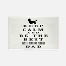 Keep Calm Dandie Dinmont Terrier Designs Rectangle