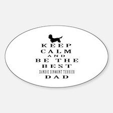 Keep Calm Dandie Dinmont Terrier Designs Decal