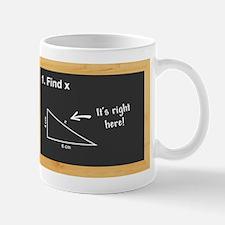 Math - Find X Mug