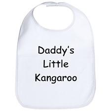 Daddy's Little Kangaroo Bib