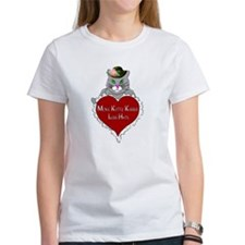 More Kitty Kisses Less Hate T-Shirt