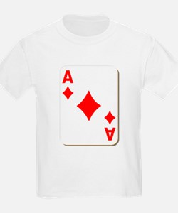 Ace of Diamonds Playing Card T-Shirt