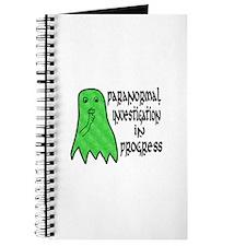 Paranormal Investigation in Progress Journal