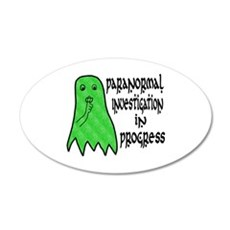 Paranormal Investigation in Progress Wall Decal