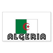 I HEART ALGERIA FLAG Decal