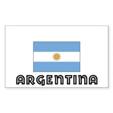 I HEART ARGENTINA FLAG Decal