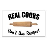 Real Cooks Rectangle Sticker
