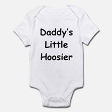 Daddy's Little Hoosier Infant Bodysuit