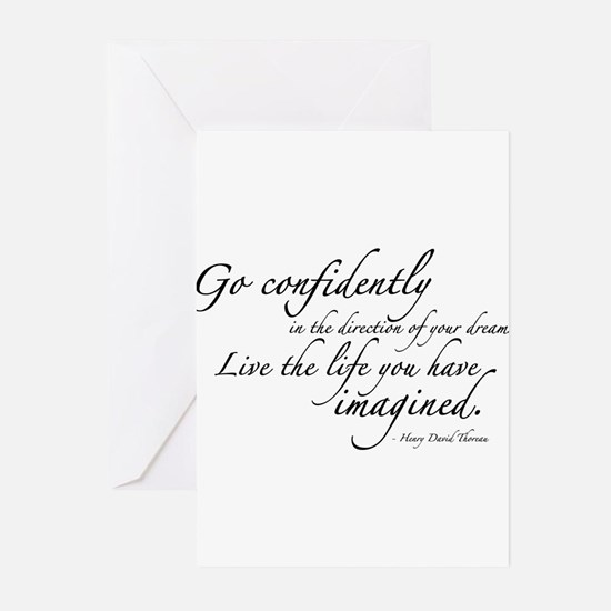 THOREAU2-wallpeel-38x24 Greeting Cards