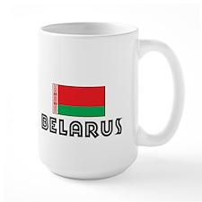 I HEART BELARUS FLAG Mug