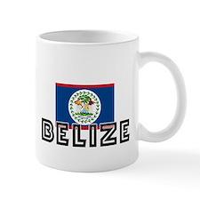 I HEART BELIZE FLAG Mug