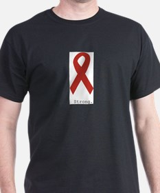 Red Ribbon: Strong. T-Shirt