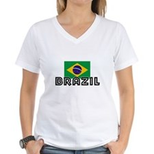 I HEART BRAZIL FLAG T-Shirt