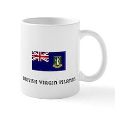 I HEART BRITISH VIRGIN ISLANDS FLAG Mug