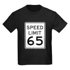 Speed Limit 65 Sign T-Shirt