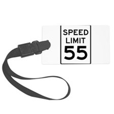 Speed Limit 55 Sign Luggage Tag