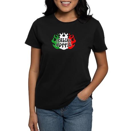 Italian Hottie Women's Dark T-Shirt